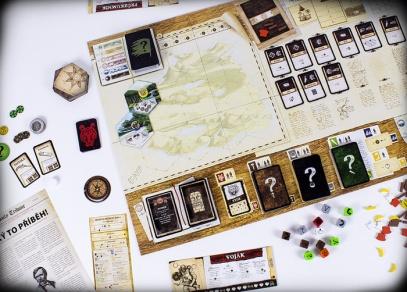 Robinson Crusoe - rozehraná hra