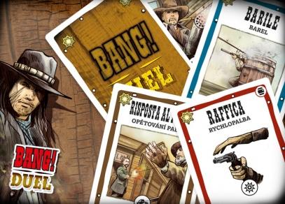 BANG! Duel - BANG! Duel - k dispozici je celkem 80 akčních karet...
