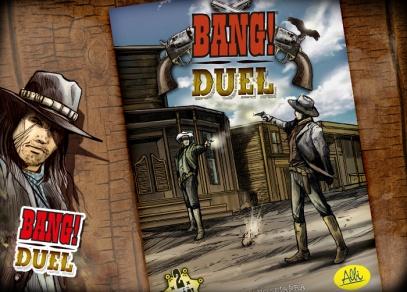 BANG! Duel - karetní hra od ALBI