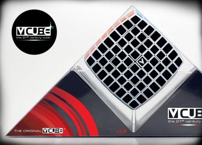 Skutečně velké úsilí, soustředění a logické myšlení - to vyžaduje složení kostky V-Cube 8x8