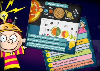 Procvičte si paměť - otázky o planetách, sluneční soustavě, vesmírném programu nebo souhvězdích...