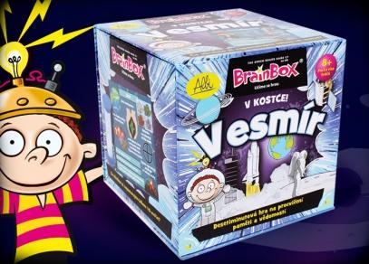 V kostce! Vesmír - vzdělávací hra pro děti od ALBI