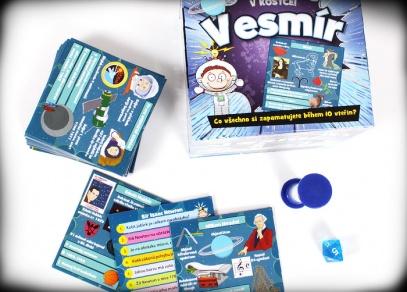 V kostce! Vesmír - skvělá vzdělávací hra od ALBI
