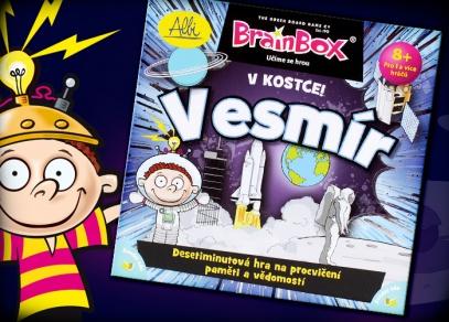 Další z řady populárních her Brainbox - co si zapamatujete o vesmíru za 10 vteřin?