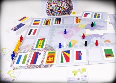 Rozehraná kvízová hra Vlajky od ALBI