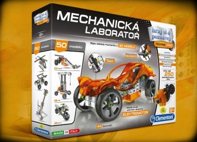 Mechanická laboratoř - stavebnice 50 různě náročných modelů