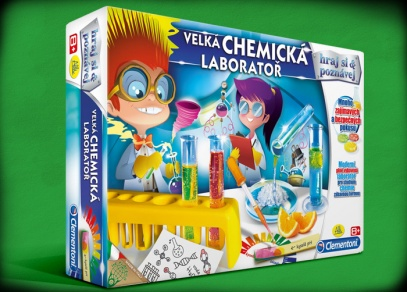 Velká chemická laboratoř - experimentální sada od ALBI