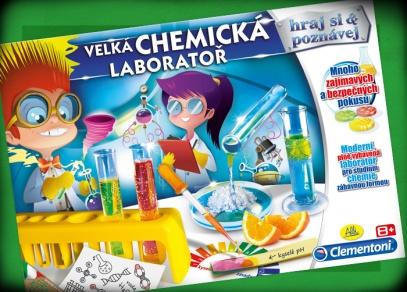 Plně vybavená, moderní a bezpečná laboratoř pro děti od 8 let...