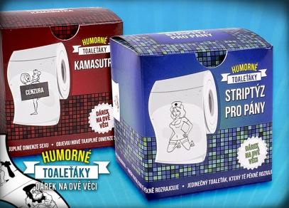 Pikantnější humorné toaleťáky pro muže i ženy
