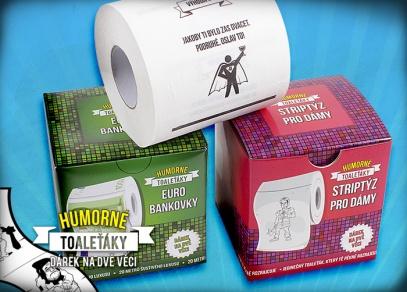 Humorné toaleťáky od ALBI pro každou příležitost