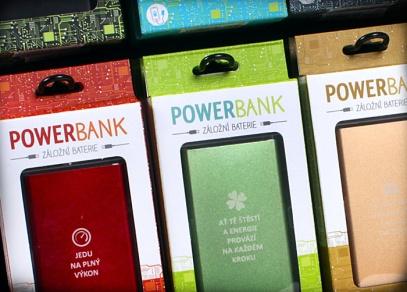 Jedu na plný výkon... Powerbanks od ALBI