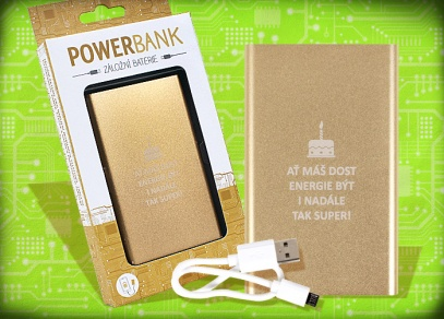 Powerbank - externí baterie s dostatkem energie pro váš mobilní telefon nebo tablet