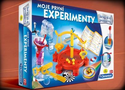 Moje první experimenty - bezpečná laboratoř pro děti již od 8 let