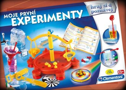 Chemie, fyzika, optika - desítky zábavných pokusů pro malé děti