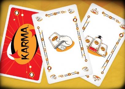 Karma - Karma - karetní hra od ALBI, kde prohrává jenom jeden