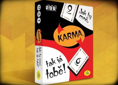 Karma - Karma - karetní hra od ALBI
