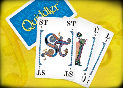 Quiddler - Karetní hru Quiddler si může společně zahrát až osm hráčů