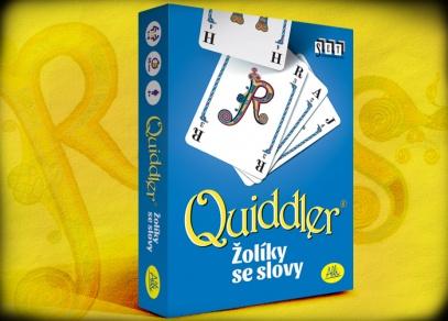 Quiddler - žolíky se slovy - karetní hra od ALBI