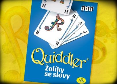 Karetní slovní bitva Quiddler