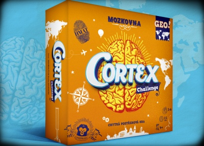 CORTEX GEO - vzdělávací logická hra od ALBI