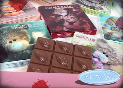 Me to you i na výtečných belgických čokoládách