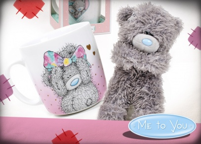 Dvojnásobná radost - medvídek Me to You s hrnečkem