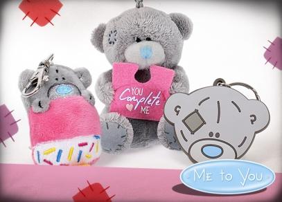 Klíčenky a přívěsky s medvídky Me to you