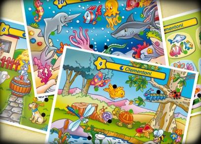 Interaktivní karty z dětské hry Ferda Kvízy