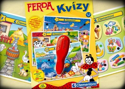 Ferda Kvízy - hry, která rozvíjí u dětí pozorovací schopnosti, prostorovou představivost a pojem velikosti