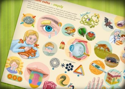 Kniha Lidské tělo je určena pro děti již od 3 let
