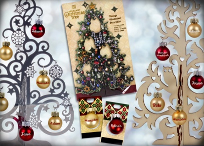 Vyberte a ozdobte si jeden ze tří vánočních stromečků od ALBI