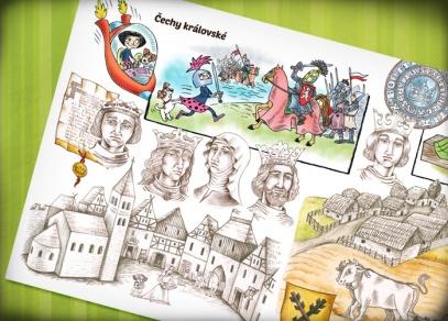 Knihu ilustrovala dětmi oblíbená ilustrátorka Ladislava Pechová