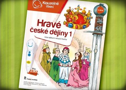 První díl interaktivních českých dějin mapuje období od pravěku až do 15. století