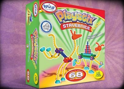Kreativní stavebnice pro děti Playstix Flexi od ALBI