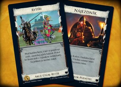 Dominion Temné časy - karty