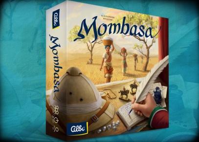Mombasa - strategická hra od ALBI