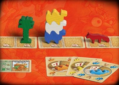 Praktické malé balení hry a jednoduchá pravidla - ideální hra na dovolenou