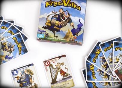 Krysí válka - karetní hra od 8 let.