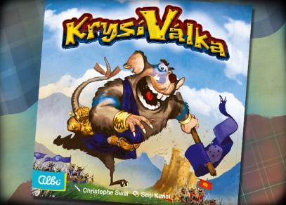 Rychlá a vtipná karetní hra pro dva hráče - Krysí válka