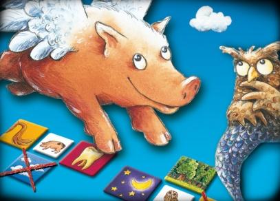 Umí prase létat - cestovní verze populární dětské hry