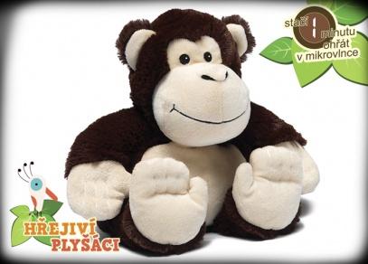 Hřejivá zvířátka od ALBI - opička