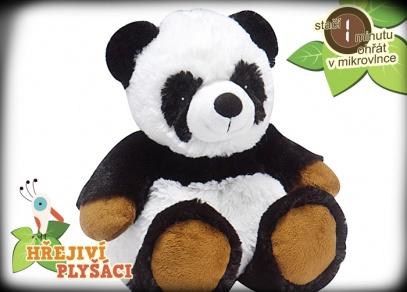Hřejivá zvířátka od ALBI - panda