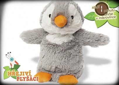 Hřejivá zvířátka od ALBI - mládě tučňáka