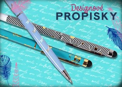 Propiska deluxe - nadčasový design se stříbrným či zlatým potiskem