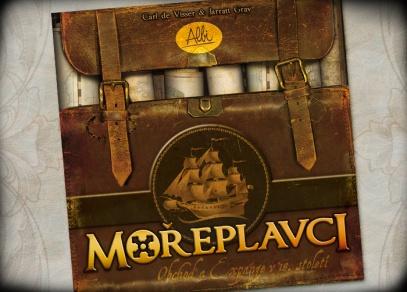 Titulní strana strategické hry Mořeplavci