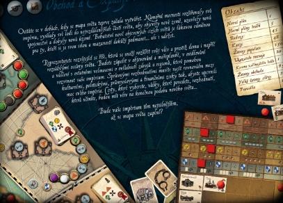 Co všechno obsahuje hra Mořeplavci?