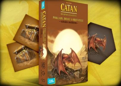 Catan - Poklady, draci a objevitelé - scénáře k rozšířením