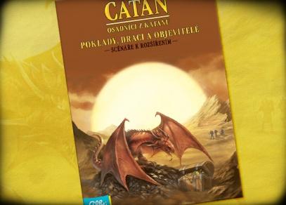 Nové scénáře k rozšířením s pouštními draky a skrytými poklady - Catan od ALBI