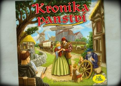 Titulní strana Kroniky panství - hry pro opravdové milovníky strategických her