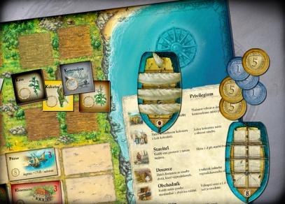 Puerto Rico - hra obsahuje přes 400 různých herních komponent